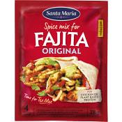 Fajita Spice mix Original 28g Santa Maria