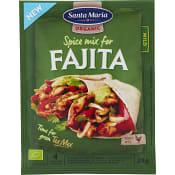 Fajita Spice mix Ekologisk 28g Santa Maria