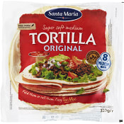 Soft tortilla 8-p 320g Santa Maria