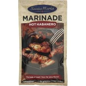 BBQ marinad Hot habanero 75g Santa Maria