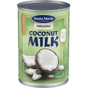 Kokosmjölk Ekologisk 400ml Santa Maria