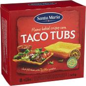 Taco tubs 8-p 145g Santa Maria