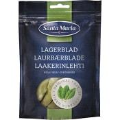 Krydda Lagerblad Hela påse 4g Santa Maria