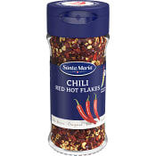 Chilipeppar Red Hot Flakes 28g Santa Maria