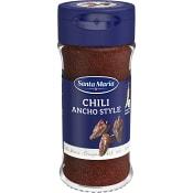 Chilipeppar Ancho Style 35g Santa Maria