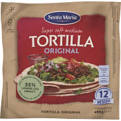 Tortilla Original Medium 12-p 480g Santa Maria