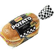 Potato Burger bun 280g Korvbrödsbagarn