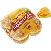 Hamburgerbröd 8-p 448g Korvbrödsbagarn