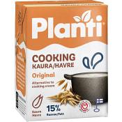 Matlagningsgrädde Laktosfri 200ml Planti