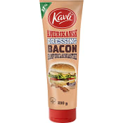 Amerikansk dressing Bacon 230g Kavli