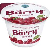 Yoghurt Körsbär 2,7% 250g Bärry
