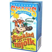 Chokladmjölk 25cl KRAV Smakis