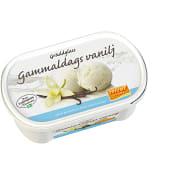 Gräddglass Gammaldags vanilj Laktosfri 0,5l Triumf Glass