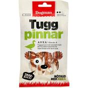Smakrika Tuggpinnar för hund 12cm 75g Dogman