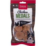 Hundgodis Chicken Medals 80g Dogman