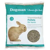 Vitaminberikad Kaninpellets 1kg Dogman