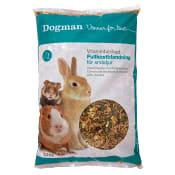 Vitaminberikad Fullkostblandning Smådjursfoder 2,3kg Dogman