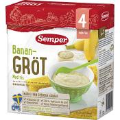 Banangröt med ris Från 4m 16-24 port 480g Semper