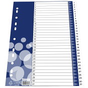 Plastregister 1-31 A4 Sense