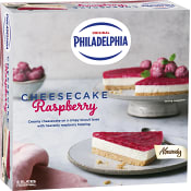 Cheesecake Philadelphia Raspberry 400g Almondy