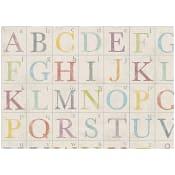 Presentpapper Alfabet 0,7x2m ICA