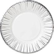 Engångsassiett Silver 8-p ICA