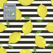 Servett 20-p 33cm Citron ICA