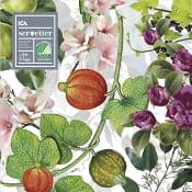 Servett 20-p 33cm Garden ICA