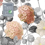 Servett 20-p 33cm Fleur ICA