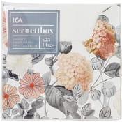 Servettbox mini Fleur 24cm 75-p ICA