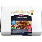 Grillade kycklingspett Grillkrydda Fryst 1,5kg Guldfågeln