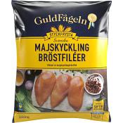 Majskycklingbröstfiléer Fryst 1kg Guldfågeln