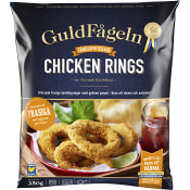 Chicken rings Fryst 350g Guldfågeln
