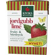 Frukt- & bärdryck Jordgubb & lime 200ml Kiviks Musteri