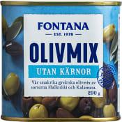 Olivmix Urkärnade 290g Fontana