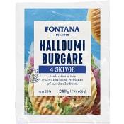 Halloumiburgare 60g 4-p Fontana