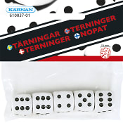 Tärningar 5-pack