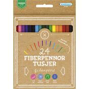 Fiberpennor Premium 24-p Kärnan