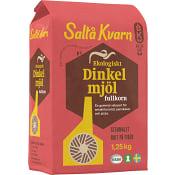 Dinkelmjöl Fullkorn 1,25Kg KRAV Saltå Kvarn