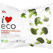 Broccoli Fryst Ekologisk 425g ICA I love eco