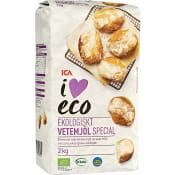 Vetemjöl Special 2kg KRAV ICA I love eco