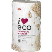 Riskakor Lättsaltade Ekologisk 100g ICA I love eco