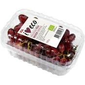 Röda kärnfria druvor Ekologisk 500g Klass 1 ICA I love eco