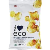 Gräddfil Chips 175g KRAV ICA I love eco