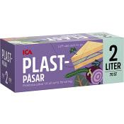 Plastpåsar 2l 70st ICA