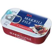 Makrillsfilé i tomatsås 125g ICA