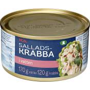 Krabba i vatten 170g ICA