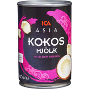 Kokosmjölk 400ml ICA Asia