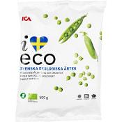 Ärtor Fryst Ekologisk 500g ICA I love eco