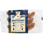 Bratwurst 300g ICA